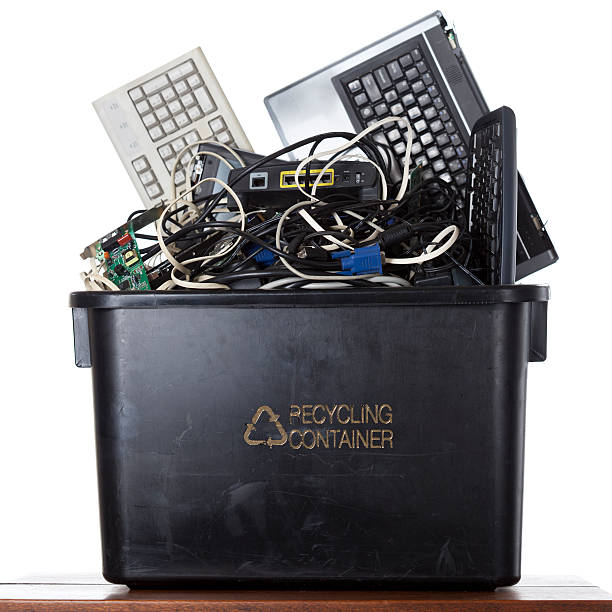 Electronic Recycling Container